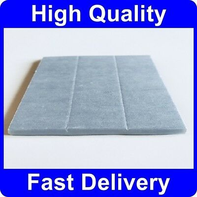 3x Number Plate Double Sided 6mm Foam Adhesive Fixing Pads Sticky Pads Oversized