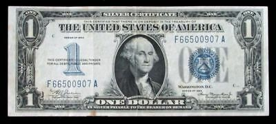 1934 Us $1 Silver Certificate Blue Seal United States Currency