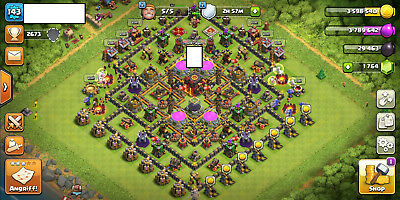 (Angebot) Clash of Clans TH10 fast Max
