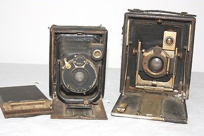 two vintage camera (spares/repair) Premo 4x5 No.8 and other (Primar 10.5cm f6.3