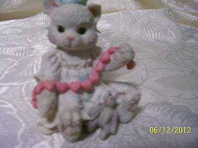 "CALICO KITTENS ""A GOOD FRIEND WARMS THE HEART"" 1992..reg.#C40/731"