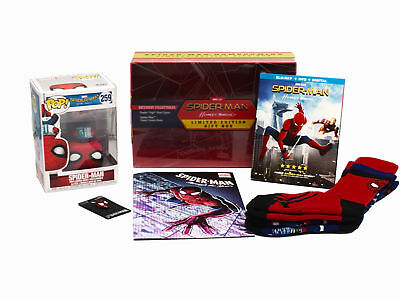 Spider-man Homecoming (Limited Edition Gift Box) with Pop #259 Walmart Exclusive