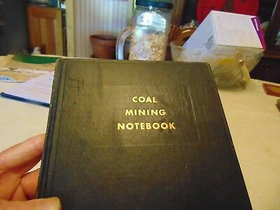 Book Coal Mining Notebook. By Editors Coal Age