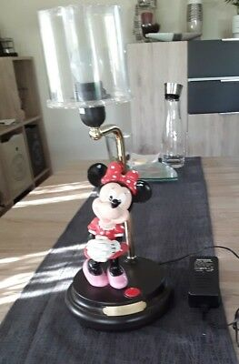 Minnie mouse Walt Disney  Lampe Nachttischlampe