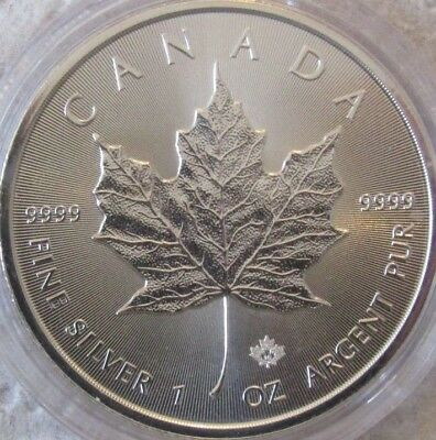 2016 Canadian Maple Leaf 1oz Silver Bullion Coin