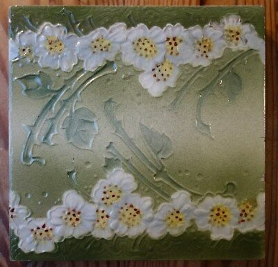Original Jugendstil Fliese / Art Nouveau tile