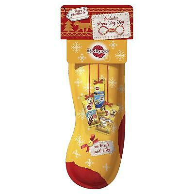 PEDIGREE Dog Christmas Stocking Filled With 4 Tasty Treats | BUY 2+ GET 20% OFF