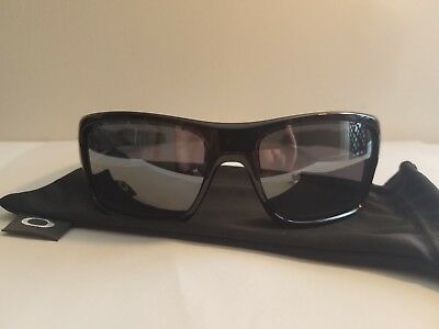 20f5f62b8fb ... get oo9263 03 oakley turbine sunglasses. polished black frame black  iridium lenses a96af bebda