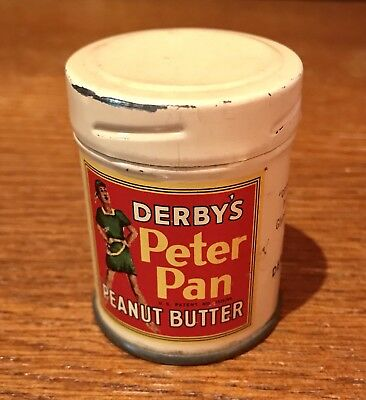 Vintage Derby's Peter Pan Peanut Butter Sample Tin
