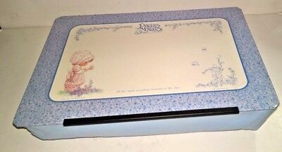 "Precious Moments Lap Desk ~ Table Bed Tray Writing Board Cushion ~ 15.5"" X 11.5"""