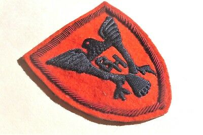 Bullion 86th Infantry Division German Theater Made Hand Embroidered Patch