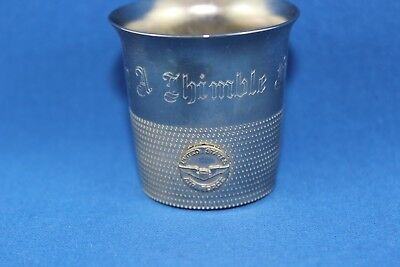 Great Vintage Us Air Force Academy A Thimble Full Shot Glass