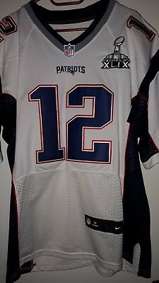 New England Patriots Tom Brady Elite Jersey