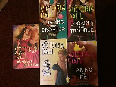 Lot of 5 Victoria Dahl Romance Novels