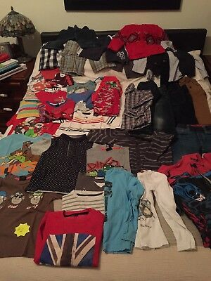 Bundle Of Boys Clothes Age 4-5 VARIOUS BRANDS