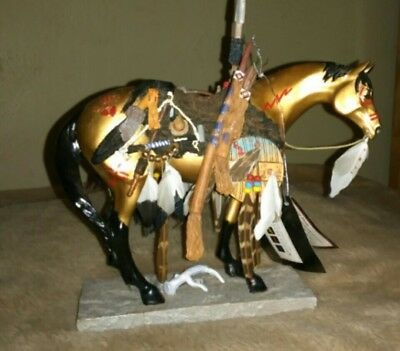 Trail of the Painted Ponies 2004 Medicine Horse Excellent Condition Retired