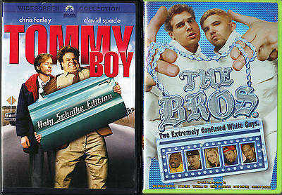 "Tommy Boy (DVD, 2005, 2-Disc Set, Widescreen ""Holy Schnike"" Edition) & The Bros"