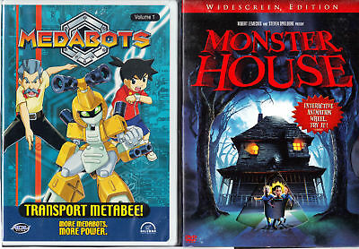 Medabots Vol. 1: Transport Metabee! & Monster House