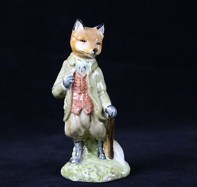 Beatrix Potter Mr. Tod Beswick Royal Doulton England Figurine 1988