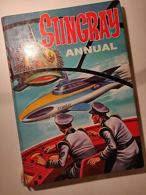 VINTAGE Stingray Annual 1965 - Gerry Anderson
