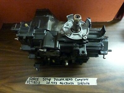 Force 40 50 Hp Outboard Engine Powerhead Cylinder Block Crankcase Assembly Motor
