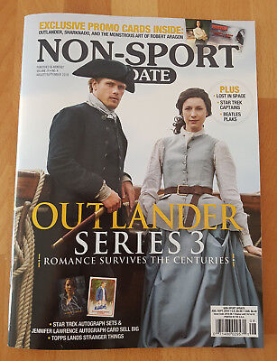 Non-Sport Update Magazin August/September 2018 (u.a. Outlander)