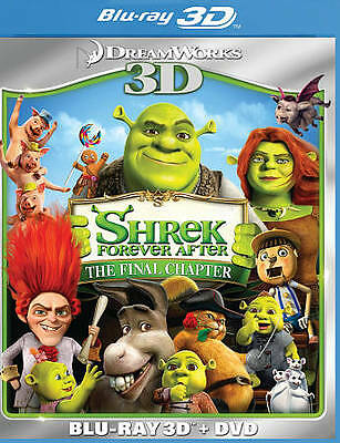 Shrek: Forever After (Blu-ray 3D + DVD Combo) ~ New & Factory Sealed!