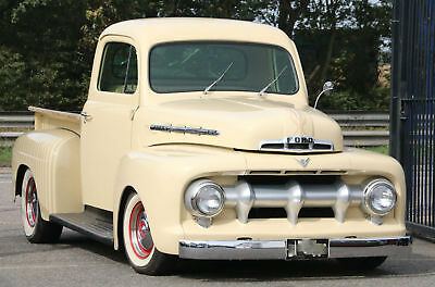 1951 FORD F1 Resto Mod Custom 302ci V8 Auto Pick Up Farm Truck Hot Rod