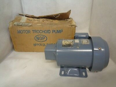 New Nippon Top-2My750 Trochoid Coolant Pump No Extra Parts