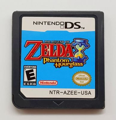 The Legend of Zelda: Phantom Hourglass DS 3DS English Video Game Play Now !