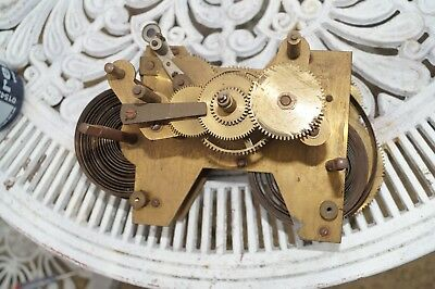Movement for time recorder clock. Spares / repair