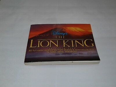 Disney's The Lion king post card book 1994