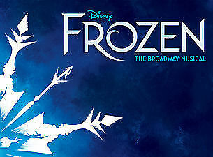 4 Tickets Disney Frozen on Broadway 12/30/18 6:30pm Great Orchestra Aisle Seats