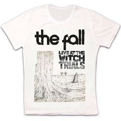 The Fall Live At The Witch Trials Punk Rock Retro Vintage Unisex T Shirt 1801