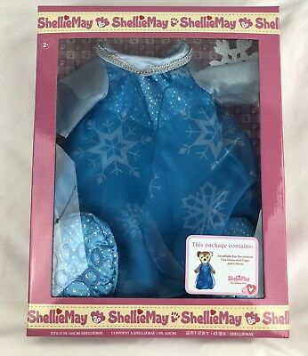 Disney Parks ShellieMay Bear ELSA From Frozen Doll Clothes Outfit Dress Duffy