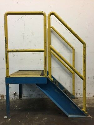 Industrial 2 Step Safety Stairs