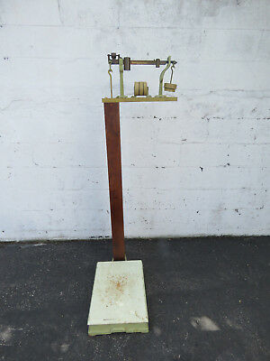 Antique USPS Post Office Platform Upright Shipping Scale from 1932 9236