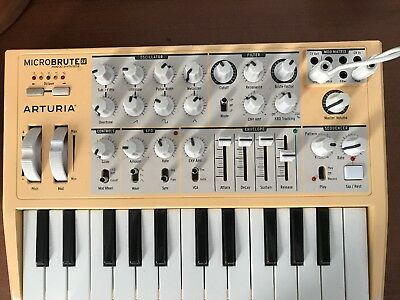 Arturia MicroBrute SE Keyboard Synthesizer