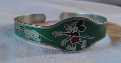 vintage antique 1930s Disney Mickey mouse Coro bracelet