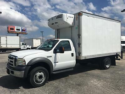 2005 Ford F550 Thermo King Reefer