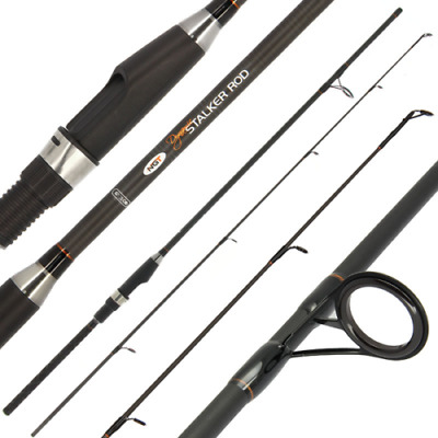 2 x Dynamic Travel Carp Fishing 11ft 3.3M 4pc 2.75lb Carbon Rods NGT Tackle