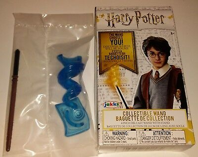 """Bnib Harry Potter Die-Cast Collectable Wand - """"draco Malfoy"""""""