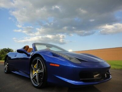 2014 Ferrari 458 FERRARI 458 ITALIA 2014 FERRARI 458 ITALIA $341,720.00 MSRP 1 OWNER AS NEW WE FINANCE LOW MILES WOW