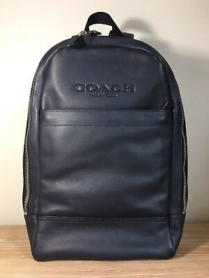 9befa6862777 Coach Charles Slim Backpack In Sport Calf Leather Mid F54135 New NWT  Authentic