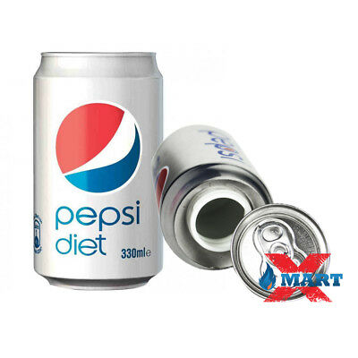 Diet Pepsi Cola 12oz Soda Can Diversion Safe Stash Secret Container Hidden