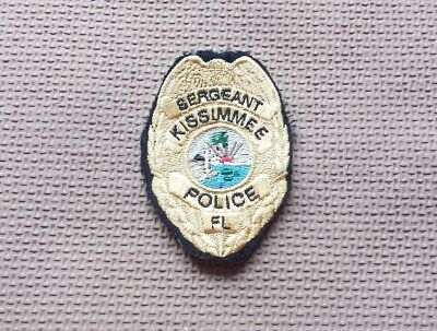 Kissimmee Florida Police Sergeant Vest Patch