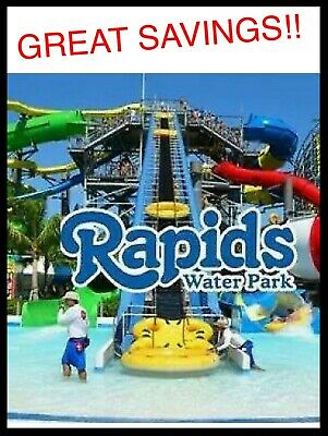 Rapids Water Park Florida Tickets A Promo Tool Discount Savings!!