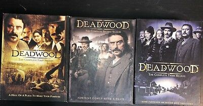 DEADWOOD The Complete Series (18-DVD Box Set) Season 1, 2 & 3