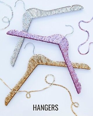 Bridal Party Gift Wedding Gift Sequin Hangers, Wedding hanger, Bridal hanger