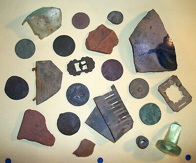 Artifacts / Coins Found near Colonial Philadelphia